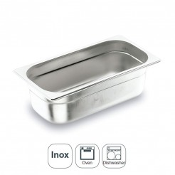 Seau Inox Aisi 200 Gastronorm 1/2