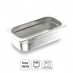 Seau Inox 18/10 Gastronorm 1/2