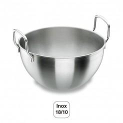Bouilloire Semi-Sphérique avec des Poignées en acier Inoxydable 18/10
