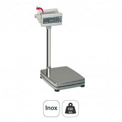 Échelle Électronique 150kg Étage de la Base Carrée en acier Inoxydable