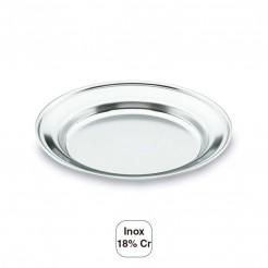 Vaisselle De Camping Plat Inox 18% Cr.