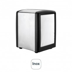 Porte-serviettes de Bar, de l'Inox et Noir