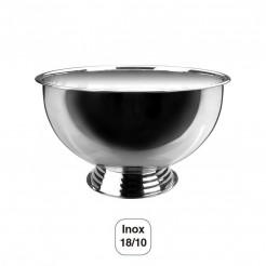 Cools-Champagne Hémisphérique avec Base en acier Inoxydable 18/10