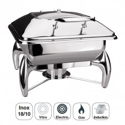 Chafing Dish Luxe En Acier Inoxydable Gastronome 2/3