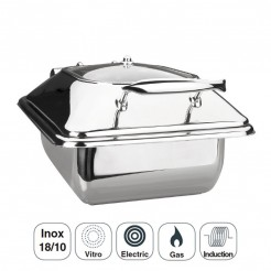 Corps Chafing Dish Luxe En Acier Inoxydable Gastronorm 1/2