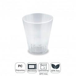 Verre Polycarbonate 8,3x9,5 cm