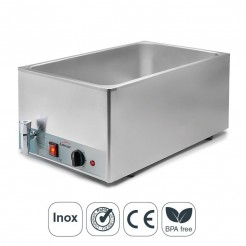 Bain-Marie Électrique GN 1/1-150 mm Professionnelle