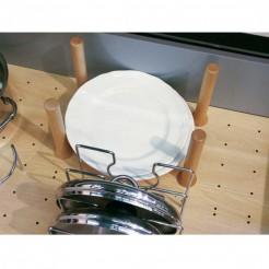 Set 4 Cylindres, des Diviseurs de Base Perforée Espace Ouvert