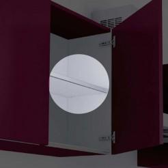 Frontale profil en Aluminium pour le Renforcement des Étagères