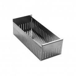 Panier en acier Inoxydable 340x157 mm Lavabo Couvert