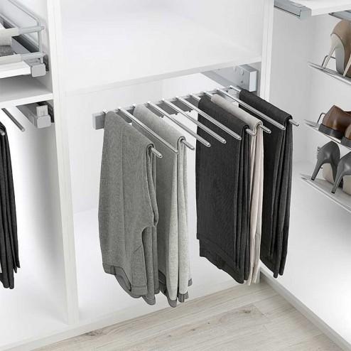 Pantalonero amovible de 10 Pantalons - Armoire