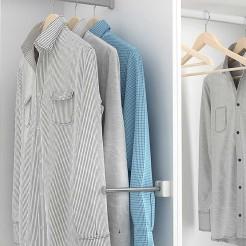 Pochette de protection/support pour des costumes pour Armoire ou Dressing