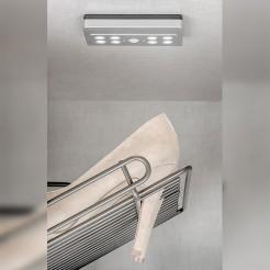 Lumière LED à Piles avec le Capteur de Mouvement, Draco Lumière Froide