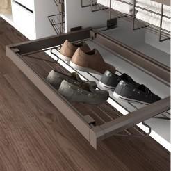 Tiroir à Chaussures en rack dans le Kit de Moka