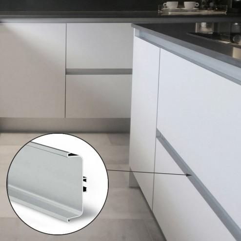 Profil Gola Intermédiaire En Aluminium Horizontal Cuisine